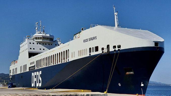 International award to dfds ship at european ferry maritime summit