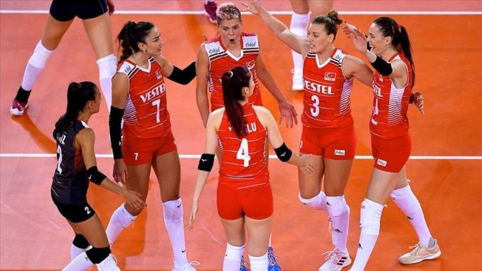 sultans of the net advanced to the semi-finals of the european women's volleyball championship
