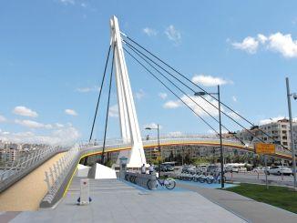 गोज़टेप सेहित केरेम ओगुज़ एर्बे ब्रिज का नवीनीकरण किया जा रहा है