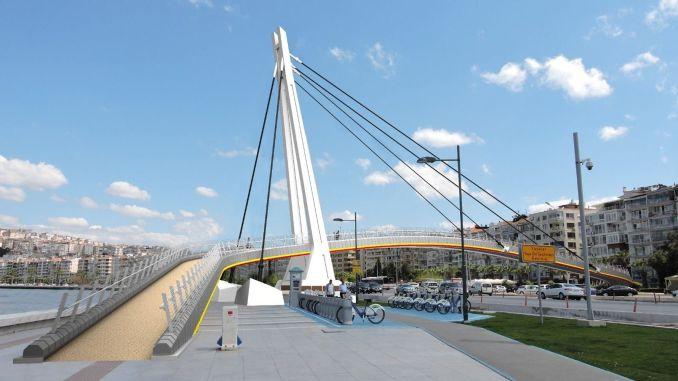 Göztepe sehit Kerem oguz erbay bridge is being renewed