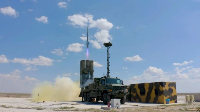 Acceptance tests begin on the hisar o air defense missile system