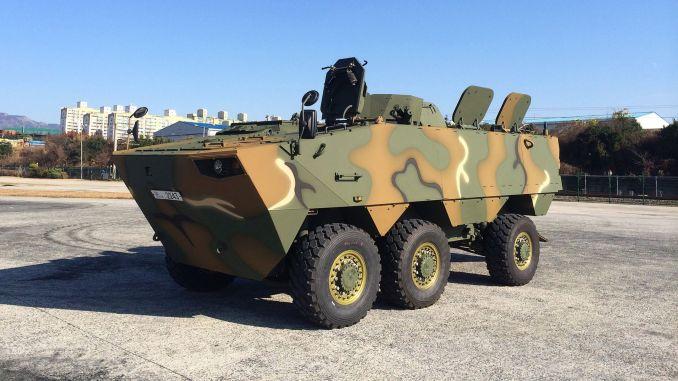 Hyundai Rotem у тендері бронемашини малазійської армії