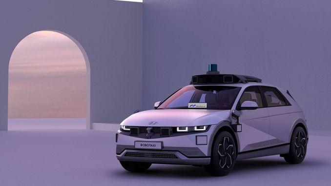 Hyundai und Motional Ioniq entwickelten Robotax