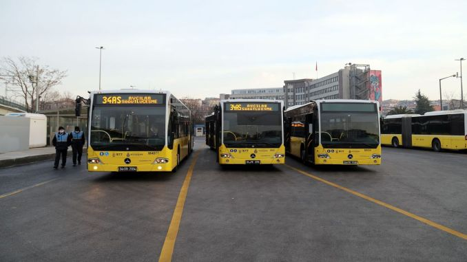 iett metro and ferry services are being increased in istanbul