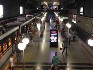 Stasiun metro Izmir akan berubah menjadi galeri seni