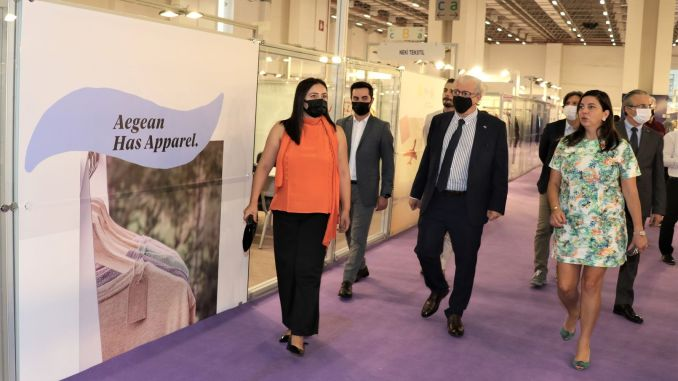 izmir fashion industry came one step closer to its billion dollar export target with the fashion prime fair