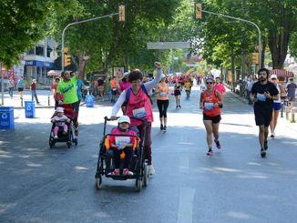 Athletes will run against violence in kadikoy half marathon
