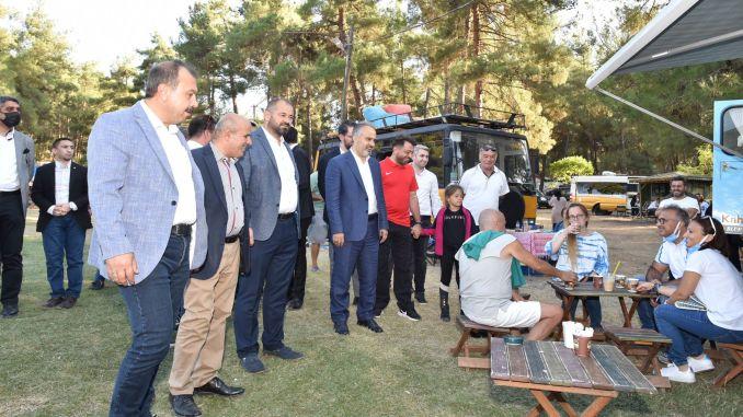 Caravan-Enthusiasten trafen sich in Bursa
