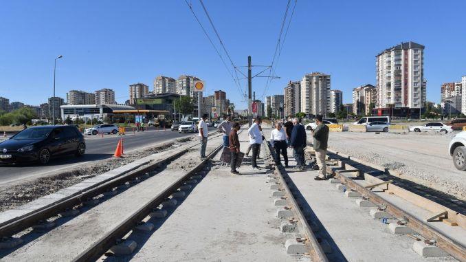 gradnja se nastavlja u kayseriju, dvije tramvajske linije bit će završene istovremeno