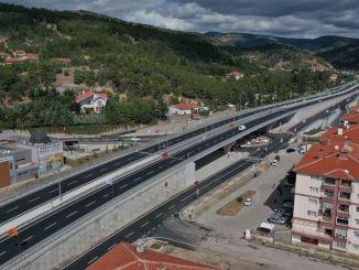 Joncțiunea podului spitalului Kızılcahamam a fost pusă în funcțiune