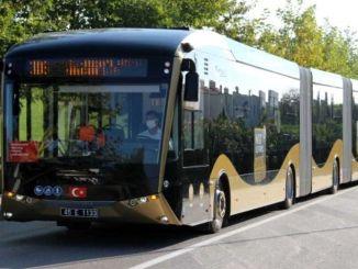 Türkiyənin lideri manisa cevreci avtobusları ilə