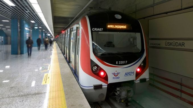 The number of passengers using the Marmaray approached a million