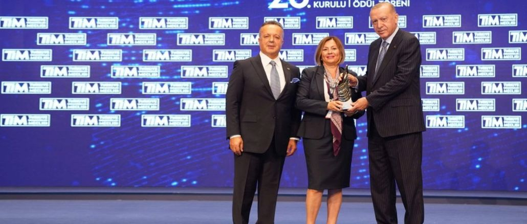 Mercedes Benz was among the first companies to export the most in Turkey