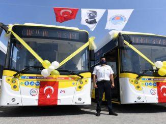 Резултати тендера за куповину аутобуса у градској општини Мерсин