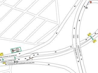 मुर्सेलपासा बुलेवार्ड में यातायात व्यवस्था