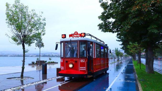 nostalgic tram to army beach