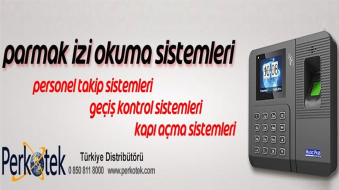 How is the perkotek fingerprint system and its functioning?