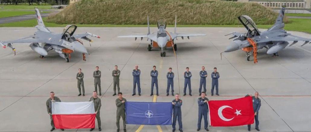 Turkish f lari deployed to poland returned to turkey