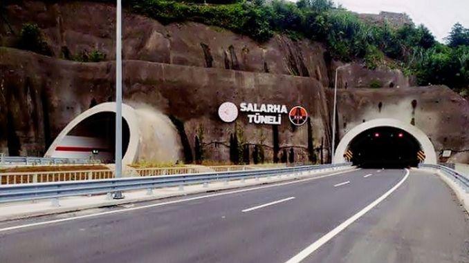 salarha tunnel is put into service, annual dream of rize has come true