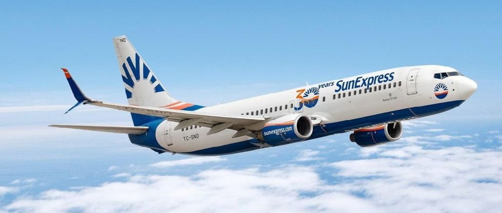 sunexpress expands its flight network with new destinations in the winter season
