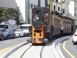 zgodovinski vlak kagithane je dan v uporabo