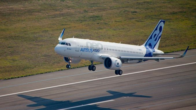 airbus summit in toulouse kicked off with demonstration flight