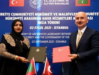 Potpisan ugovor o vazdušnom transportu između Turske i Maldiva