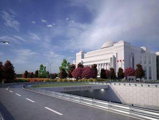 stičišče vrhovnega sodišča se je odprlo z zgradbo vrhovnega sodišča