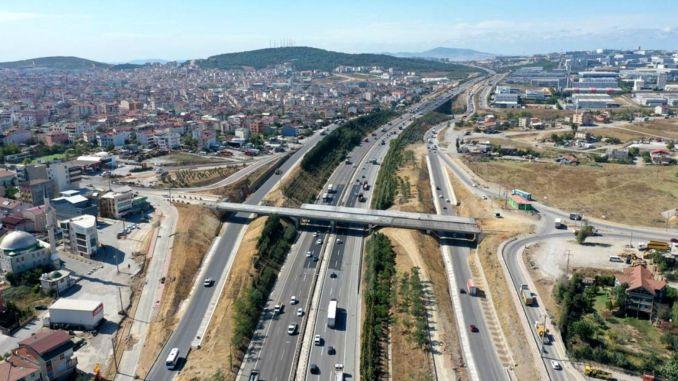 gegen Ende auf der neuen Kirazpinar-Brücke