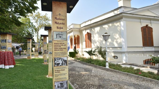 Hundreds of years old Bursa Koskler Exhibition opened to the public in Hunkar Koskun