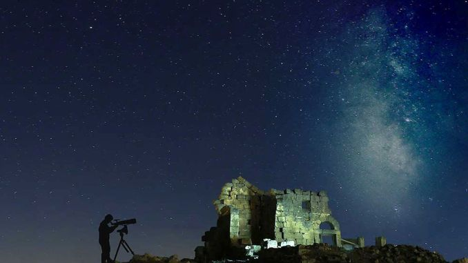Internationales Himmelsbeobachtungsereignis im Schloss Zerzevan beendet