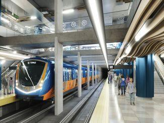 كيلومتر سيتم بناء مترو مرسين على مراحل