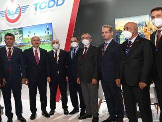 Minister Karaismailoglu je obiskal stojnico TCDD