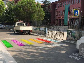Auszeichnung für Bursas Safe School Road Project