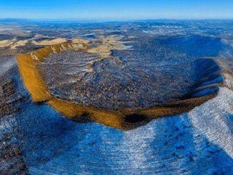 تم العثور على أصغر فوهة بركان في العالم في غابة سيندي
