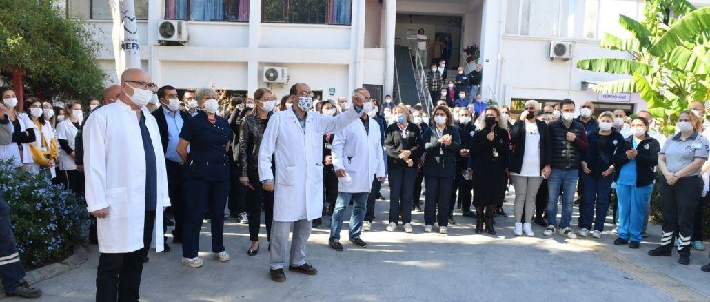 Attack on Esrefpasa Hospital Staff Protested