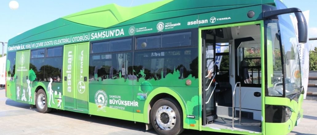 Electric Buses to Be Commissioned in Samsun