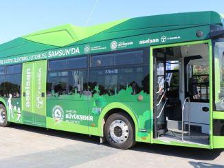 Električni autobusi će biti pušteni u rad u Samsunu