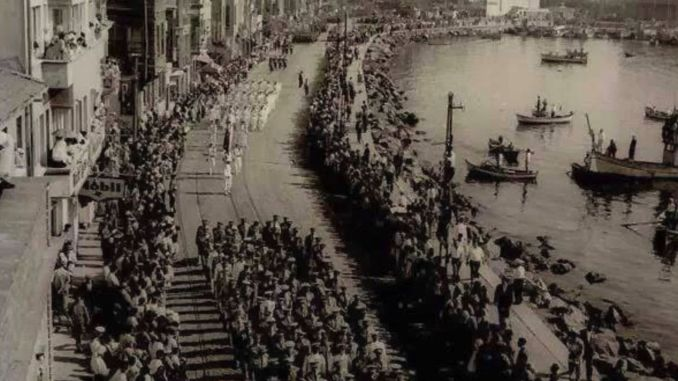 The Last Occupation Troops Left Istanbul