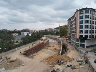 Prozentsatz der Autobahnunterführung von Afyonkarahisar ist fertiggestellt