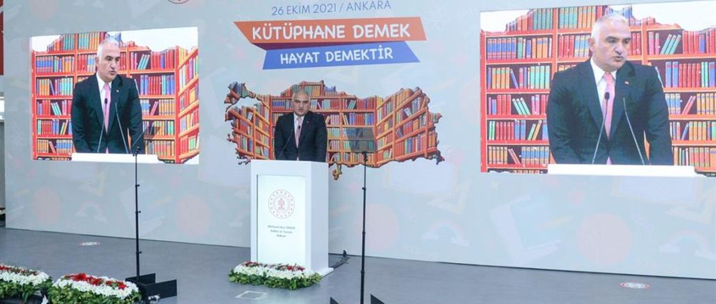 Minister Ersoy Attended the Promotion Meeting of the Project There Will Be No School Without Libraries