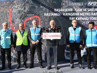 Basaksehir Kayasehir Metro Line Percent Completed