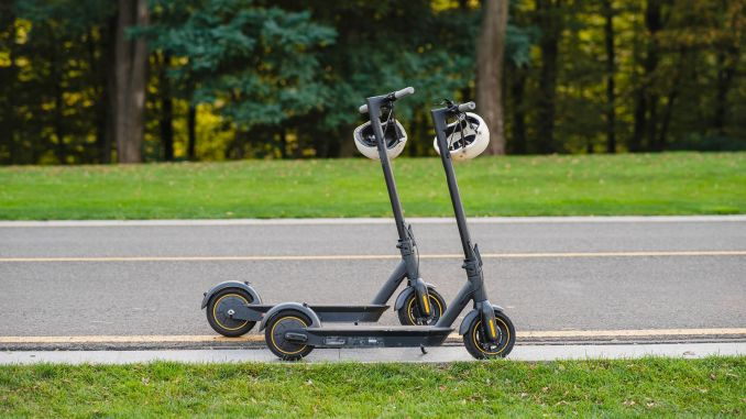 capital city residents will start using electric scooters in the district during the week