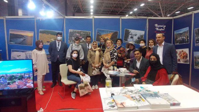 bursa's tourism values were introduced at the van east anatolia tourism and travel fair