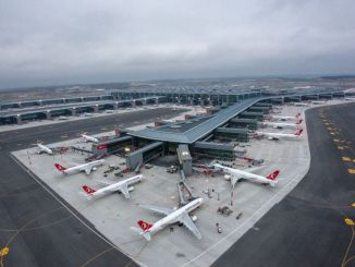 Der Flughafen Istanbul wurde der zweite in Europa mit täglichen Flügen