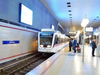 इज़मिर में मेट्रो और ट्राम कर्मचारी हड़ताल पर