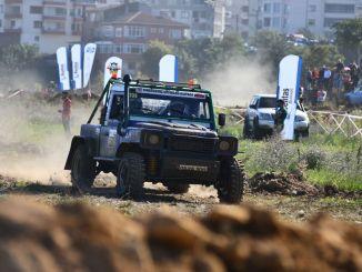 Die Aufregung erreichte ihren Höhepunkt bei Offroad-Cup-Rennen am Schwarzen Meer