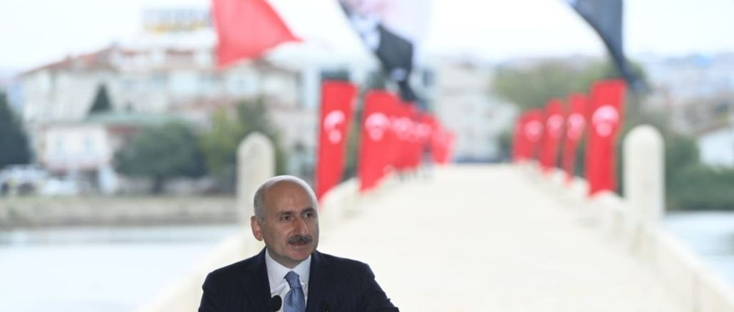 karaismailoglu canal istanbul is an international transportation project