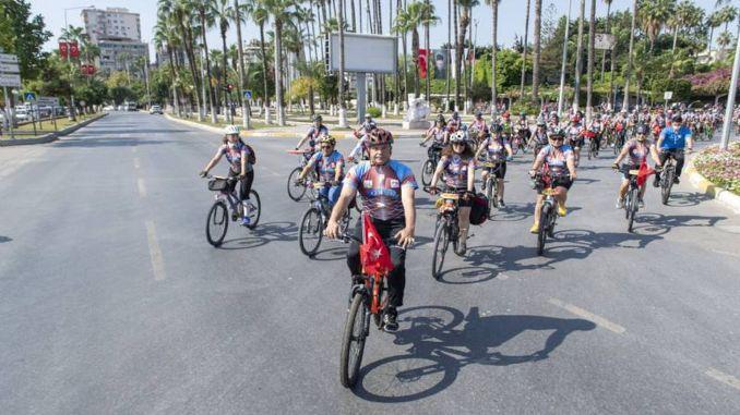 caretta bike festival from mersin buyuksehir