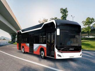 Otokar présentera le bus électrique urbain electra pendant le transport et la communication
